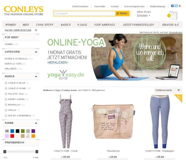 Photo of Conleys kooperiert mit YogaEasy