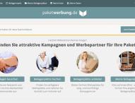 Paketwerbung.de Relaunch des neuen Marktplatzes
