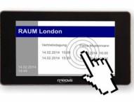 Produktneuheit: meovis EasyDoorSign digitales Türschild