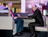Qatar Airways präsentiert neuen A380 First Class Sitz