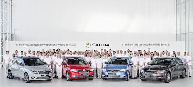 Photo of Rekord: 11.000.000 Automobile im SKODA Stammwerk produziert