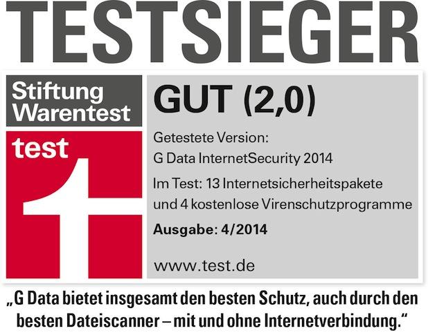 Photo of G Data InternetSecurity ist Testsieger bei Stiftung Warentest