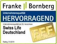 Swiss Life Deutschland: Bestnote für Kompetenz