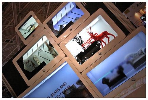Bild von Transparent LCD Displays – Präsentation