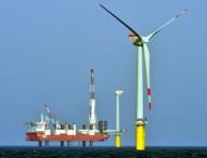 Trianel Windpark Borkum trotzt schwierigen Wetterbedingungen im Plan