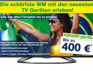 Zur WM 2014 kauft FLIP4NEW verstärkt TV-Geräte an
