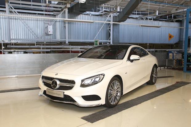 Photo of Produktionsstart im Mercedes-Benz Werk Sindelfingen