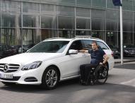 Mobilität für Ronny Ziesmer: E-Klasse T-Modell mit Fahrhilfen ab Werk