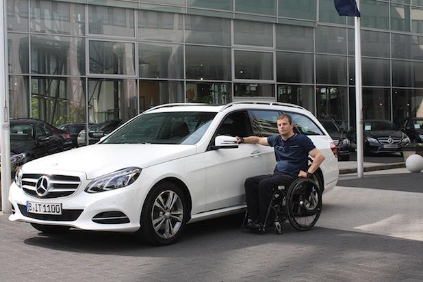 Bild von Mobilität für Ronny Ziesmer: E-Klasse T-Modell mit Fahrhilfen ab Werk