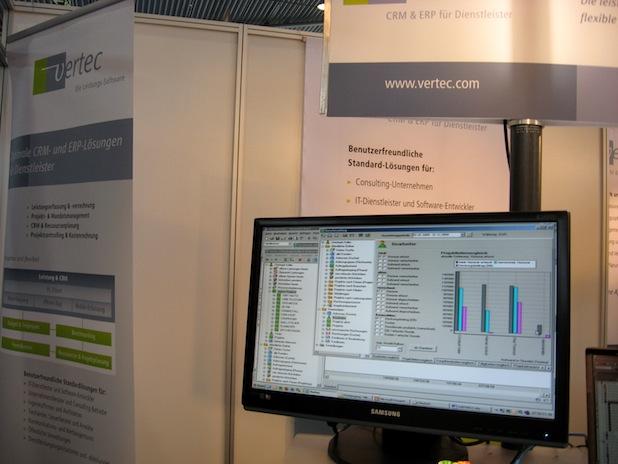 Photo of Vertec mit ausgereiften CRM- & ERP-Lösungen für Dienstleister auf der IT & Business 2014