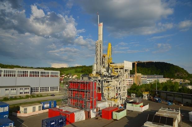 Rund eineinhalb Jahre dauerten Entwicklung und Bau der Offshore-Bohranlage VDD 400.2 im Auftrag des Unternehmens ARCHER. Foto: STREICHER