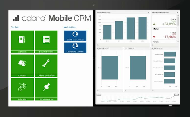 Photo of Das neue cobra Mobile CRM für Windows 8.1
