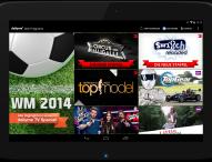 Fußball-Weltmeisterschaft auf dem Second Screen
