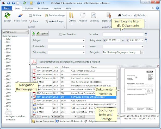 Photo of Elektronische Rechnungen mit DMS-Lösung Office Manager richtig archivieren