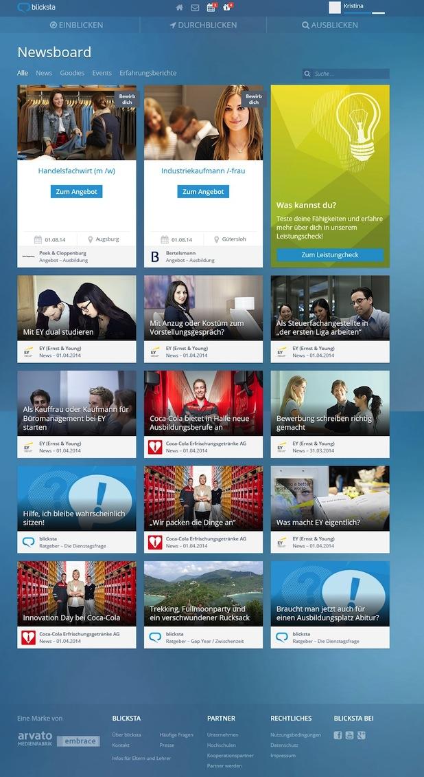 Photo of Neue Schüler-Plattform blicksta bietet individuelle Berufsorientierung