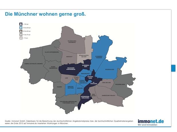 Photo of Die Münchener wohnen geräumig und teuer!