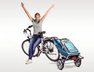 Der Kofferraum für das Fahrrad