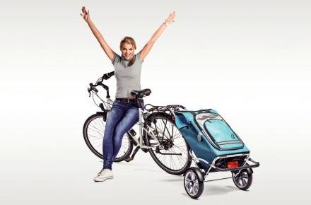 Bild von Der Kofferraum für das Fahrrad