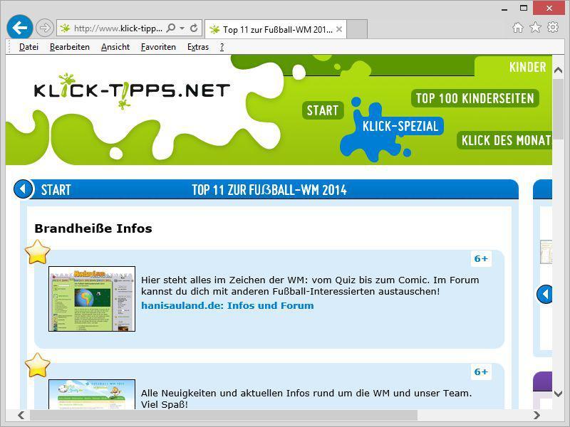 Photo of klick-tipps.net präsentiert Klick-Spezial zur Fußball-WM in Brasilien