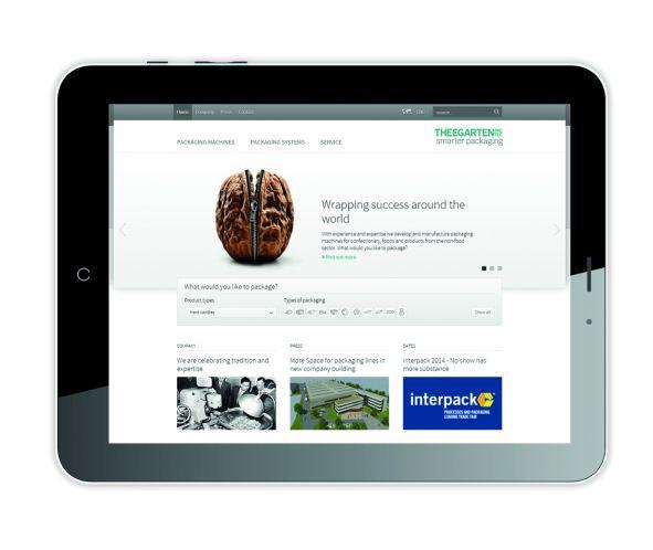 Bild von Theegarten-Pactec überarbeitet Corporate Design