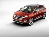 Ford will mit neuem, hochmodernen Topmodell Edge stärker profitieren