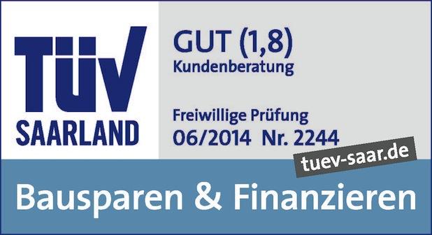 Bild von TÜV Saarland benotet Beratungsqualität und -prozesse mit 1,8