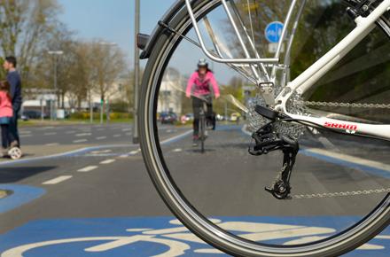 Bild von Breite für Radfahrer: E-Radschnellweg Göttingen