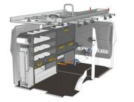 StoreVan schlägt die Ideallösung für einen Elektriker in einem Fiat Scudo L1H1 vor Drucken