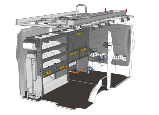 Photo of StoreVan schlägt die Ideallösung für einen Elektriker in einem Fiat Scudo L1H1 vor Drucken