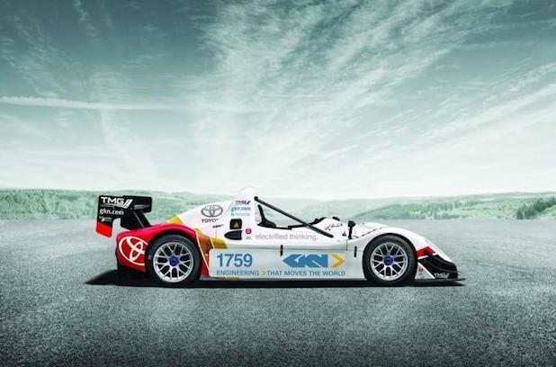 Bild von GKN bringt elektrisch angetriebenen Rennwagen zum Festival of Speed