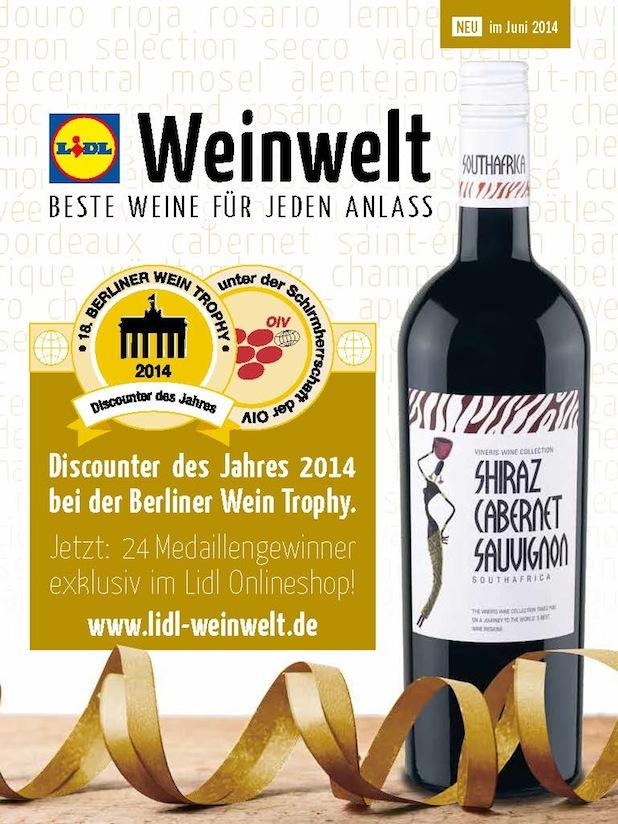 Bild von Prämierte Weine auf Lidl-Weinwelt.de