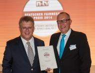 Buchbinder Rent-a-Car mit Deutschem Fairness-Preis 2014 ausgezeichnet