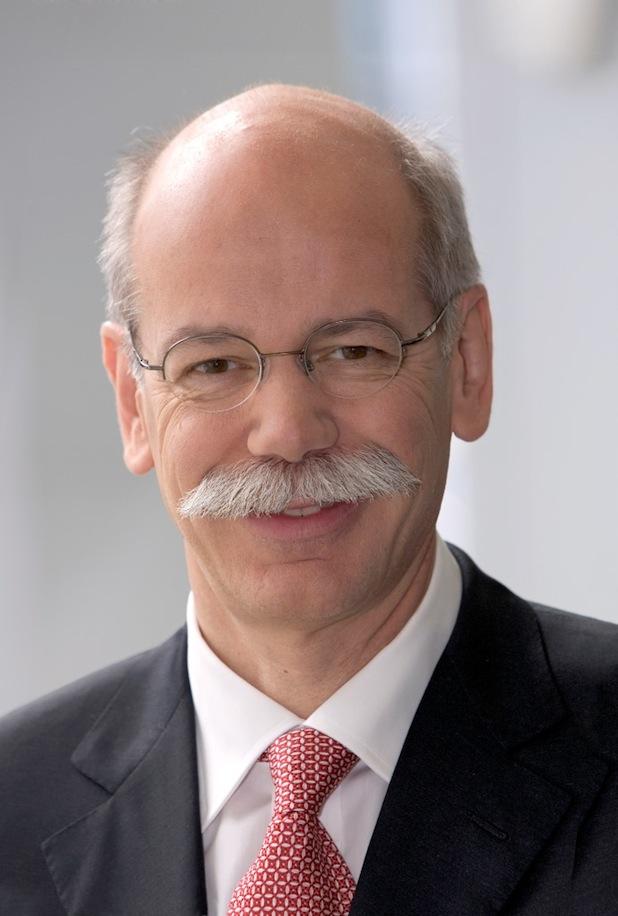 Bild von Dr. Dieter Zetsche erhält Eurostar von Automotive News Europe