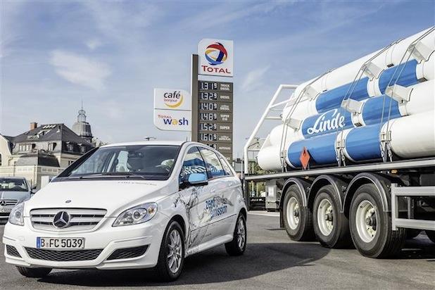 Bild von Daimler, Linde und Partner errichten neue Wasserstofftankstellen in Deutschland