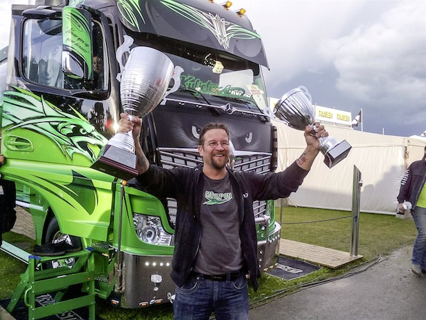"Photo of Gewinner der ""Nordic Trophy 2014"" als IAA-Blickfang"