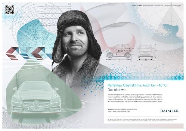 """Bild von """"Das sind wir"""": Daimler startet neue Arbeitgeberkampagne"""