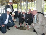 Grundsteinlegung für das neue Verwaltungsgebäude des Mercedes-Benz Werkes Gaggenau