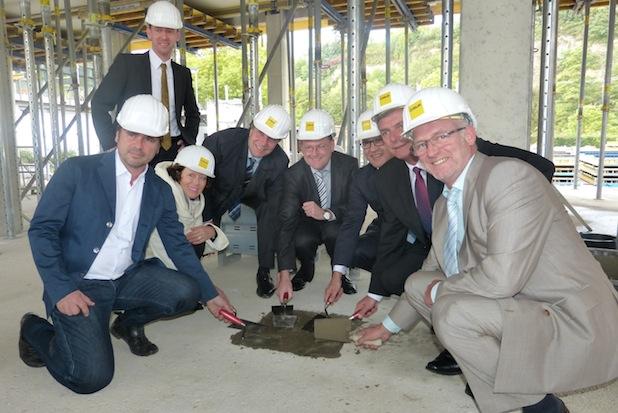 Photo of Grundsteinlegung für das neue Verwaltungsgebäude des Mercedes-Benz Werkes Gaggenau