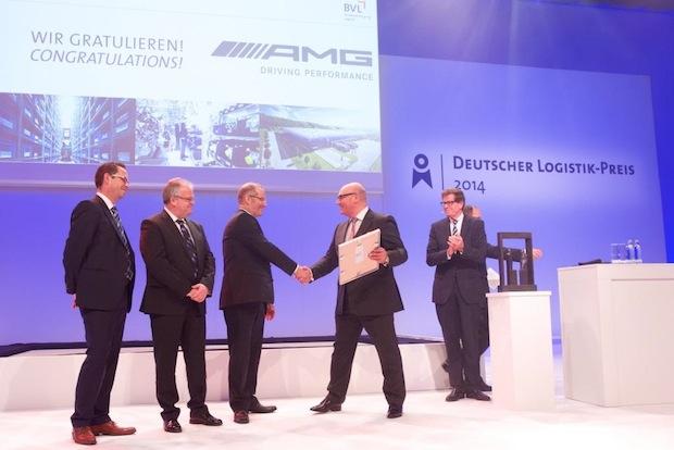 Photo of Mercedes-AMG erhält Auszeichnung der Bundesvereinigung Logistik