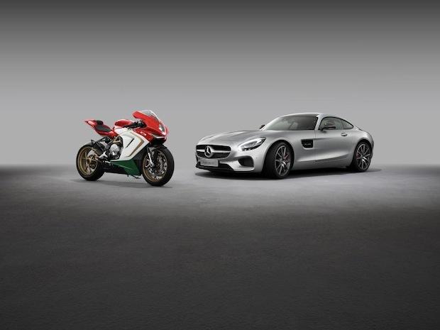 Bild von Mercedes-AMG und MV Agusta geben Kooperation bekannt