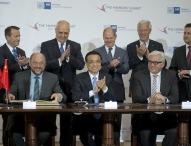 """Chinas Ministerpräsident Li Keqiang zu Gast beim """"Hamburg Summit"""" in der Handelskammer"""