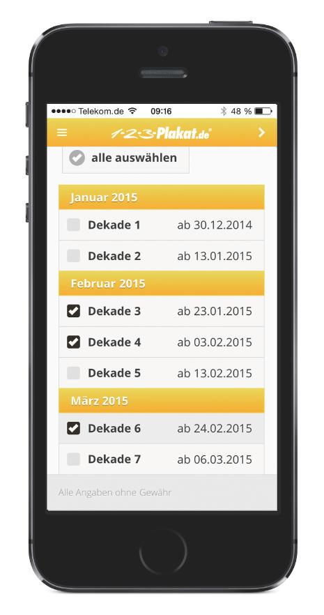 Photo of 1-2-3-Plakat.de bietet App zum Dekadenplan in der Außenwerbung