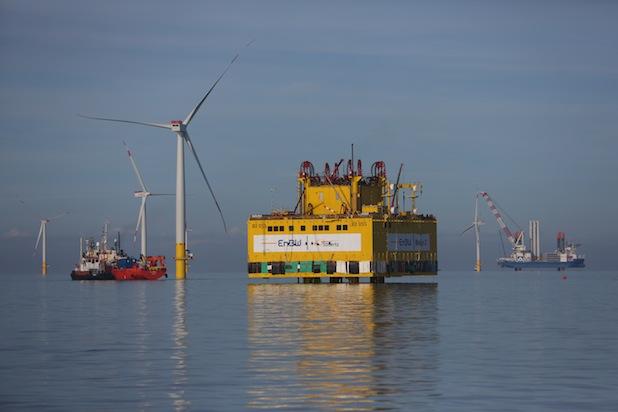 Photo of Umspannstation für EnBW Baltic 2 erfolgreich in Ostsee installiert