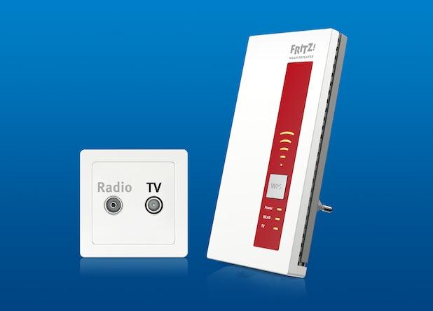 Bild von FRITZ!WLAN Repeater DVB-C ab sofort im Handel erhältlich