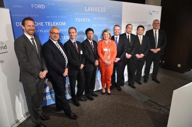 Delegation der Metropolregion Köln/Bonn präsentierte sich in Tokyo als DER Standort für Technologien der Zukunft