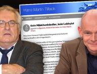 """""""Üble Nachrede"""": WMP-Chef Tiedje erstattet Strafanzeige gegen stern-Mann Tillack"""