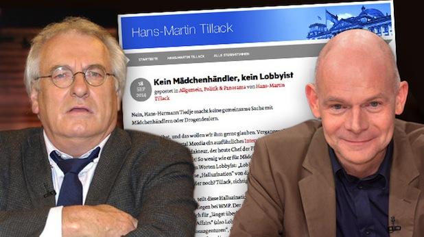 """Bild von """"Üble Nachrede"""": WMP-Chef Tiedje erstattet Strafanzeige gegen stern-Mann Tillack"""