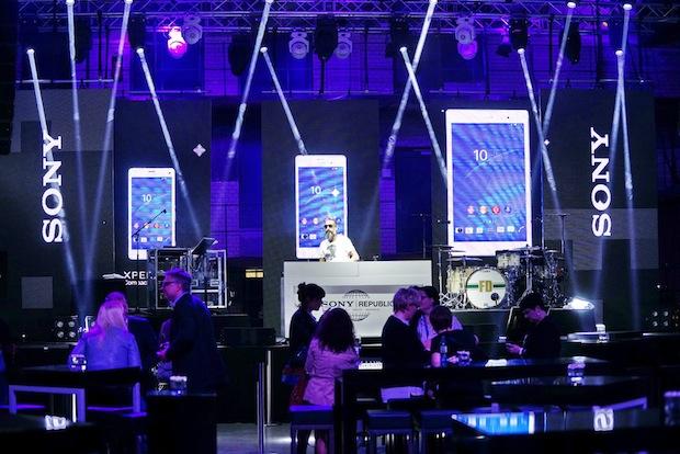 Bild von Lieblingsagentur realisiert Sony Republic im Rahmen der IFA 2014