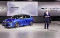 SKODA Fabia: Weltpremiere auf der Volkswagen Group Night