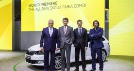 Neuer SKODA Fabia und Fabia Combi feiern Weltpremiere